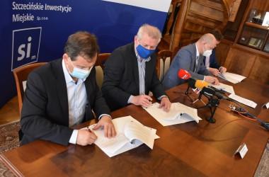 Przebudowa na Międzyodrzu - umowy podpisane